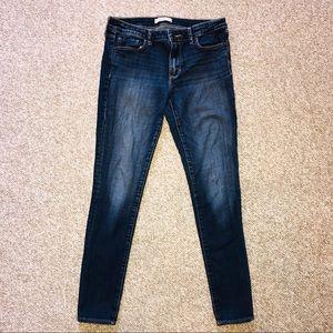 Abercrombie & Fitch Skinny Jeans SZ 6 Short